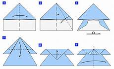 How To Fold The Original Looping Paper Airplane 3 Steps