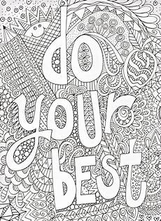 quote coloring pages for adults and best coloring