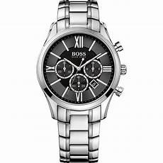 boss uhren herren schwarz watches herren chronograph ambassador quot 1513196