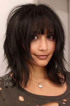 layered hairstyles for medium hair with bangs 36 modern medium hairstyles with bangs for a new