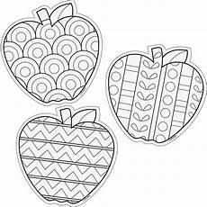 Ausmalbilder Obst Grundschule Color Me 6 Designer Cut Outs Apples Likovna