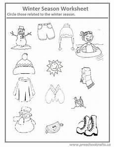 seasons worksheets for kg 14818 winter season worksheet for preschool and kindergarten preschool crafts