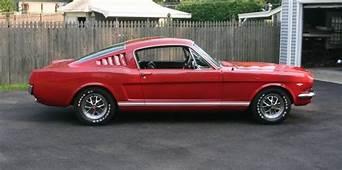 Rangoon Red 1965 Ford Mustang Fastback  MustangAttitude