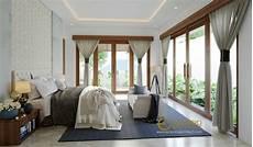 10 Desain Interior Kamar Tidur Bergaya Villa Bali Dengan