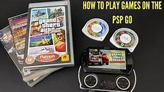 how to sony psp on the sony psp go system
