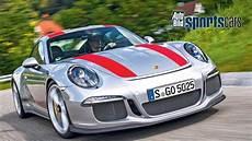 porsche 911 r top test 0 230 km h sound