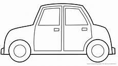 malvorlage auto einfach ausmalbilder f 252 r kinder