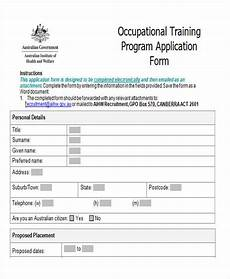 free 43 sle application form templates in ms word