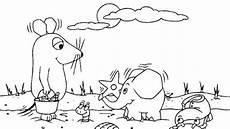 Malvorlagen Elefant Und Maus Maus Und Elefant Am Strand Die Seite Mit Der Maus Wdr