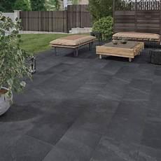 carrelage terrasse exterieur moderne carrelage sol noir effet sicile l 30 x l 60 cm