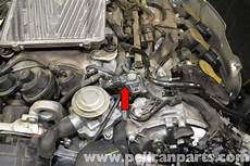 Mercedes W204 Map Sensor Replacement 2008 2014