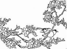 Malvorlage Vogel Mit Blume Vogel Mit Blumen Ausmalbild Malvorlage Blumen
