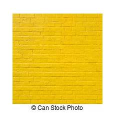 vertical part of yellow painted brick wall vertical part of bright yellow painted brick block wall