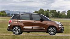 fiat 500l facelifted with three new versions wagon