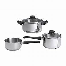 casserole induction ikea annons 5 cookware set glass stainless steel