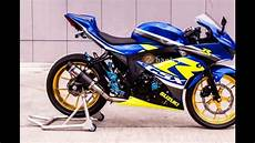 Modifikasi R 150 by Modifikasi Gsx R 150 2017