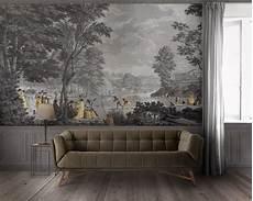 papier peint panoramique design landscapes 19th century scenic wallpaper papiers