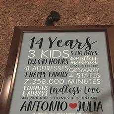 What Is The 14th Wedding Anniversary Gift