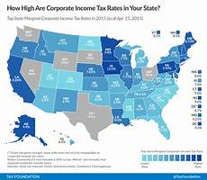 Missouri State Tax Chart 2015 State Corporate Income Tax Rates And Brackets For 2015