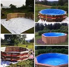 Swimmingpool Aus Paletten - pallet diy swimming pool wood pallet diy projects