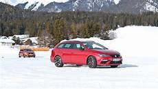 gamme seat 2018 essai de la gamme seat 4drive sur la neige et la glace