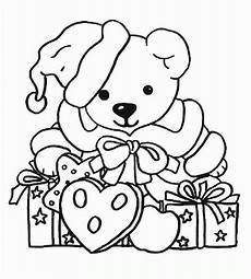 Ausmalbilder Weihnachten Teddy Coloring Pages Coloringpages1001