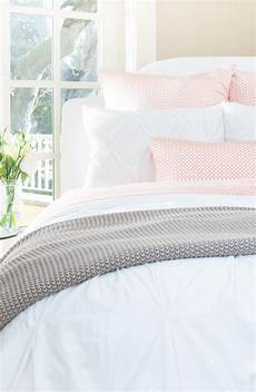 soft luxurious white pintuck bedding with a pop of coral pretty check out this website for