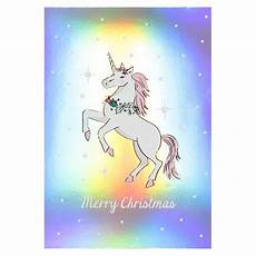 merry christmas unicorn postcard paperchase