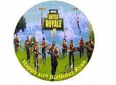 fortnite edible cake topper 7 for sale in dalkey dublin from flour power