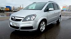 2006 opel zafira start up engine and in depth tour
