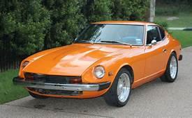 Classic Restored Orange 1976 Datsun 280Z Coupe 4 Speed