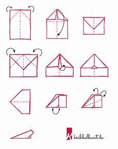Papierflieger Basteln 187 Papierflieger Falten Kribbelbunt
