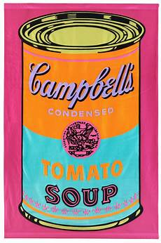 Andy Warhol Quot Cbell S Tomato Soup Banner Quot Bukowskis