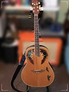 Ovation Deluxe Cc 267 Year 1995 With Ovation