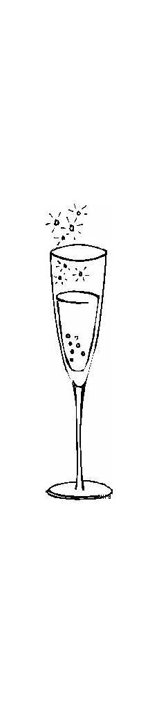 Gratis Malvorlagen Glas Glas Mit Sekt Ausmalbild Malvorlage Gemischt