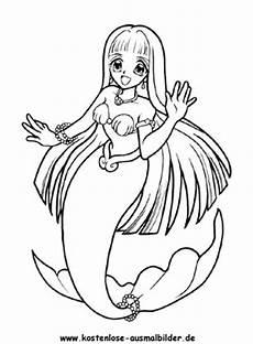 Malvorlagen Meerjungfrau Jung Ausmalbilder Meerjungfrauen Ausmalbild Meerjungfrau 2