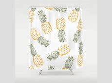 Best Pineapple Shower Curtain Products on Wanelo