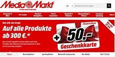 Autoradio Einbauen Lassen Media Markt - media markt 50 eur geschenkkarte f 252 r produkte ab 300 eur