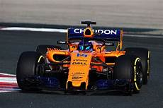 renault powered mclaren 2018 f1 car hits track for