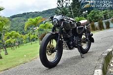 Kawasaki W175 Modif Cafe Racer by Modifikasi Kawasaki W175 Cafe Racer Usung Konsep Pas Dan