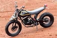 Modif Thunder 125 by Modif Suzuki Thunder 125 Inspiring By Yamaha Tw 200