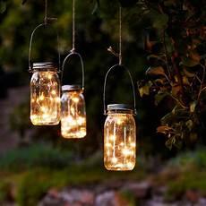 dekorieren mit lichterketten led lichterkette im einmachglas 3er set kaufen