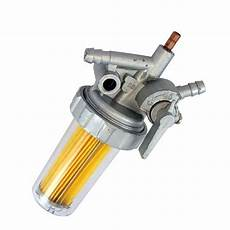 External Fuel Filter Assembly Yanmar L75 L90 L100 Diesel