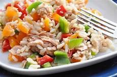 b 228 renhunger bunter paprika reis salat