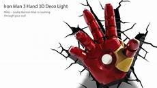 iron man 3 hand 3d deco night light from 3dlightfx ironman superheroes iron man pinterest