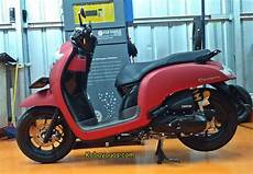 Modifikasi Honda Scoopy 2018 by Modifikasi All New Honda Scoopy 2018 Modif Simpel Enak
