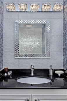 chrome bathroom vanity light fixture with crystal in modern bathroom modern bathroom new