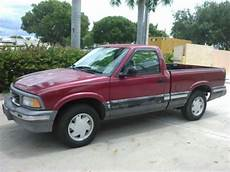 auto air conditioning repair 1994 gmc sonoma regenerative braking purchase used 1994 gmc sonoma sle standard cab pickup 2 door 4 3l barn find low miles in delray