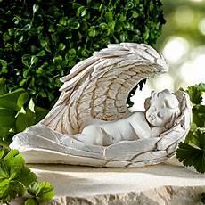 ange pour tombale ange avec ailes solaires vitrine magique
