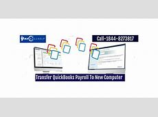 how to transfer quickbooks from old computer